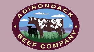Adirondack Beef Company logo.