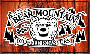 Bear Mountain Coffee Roasters logo.