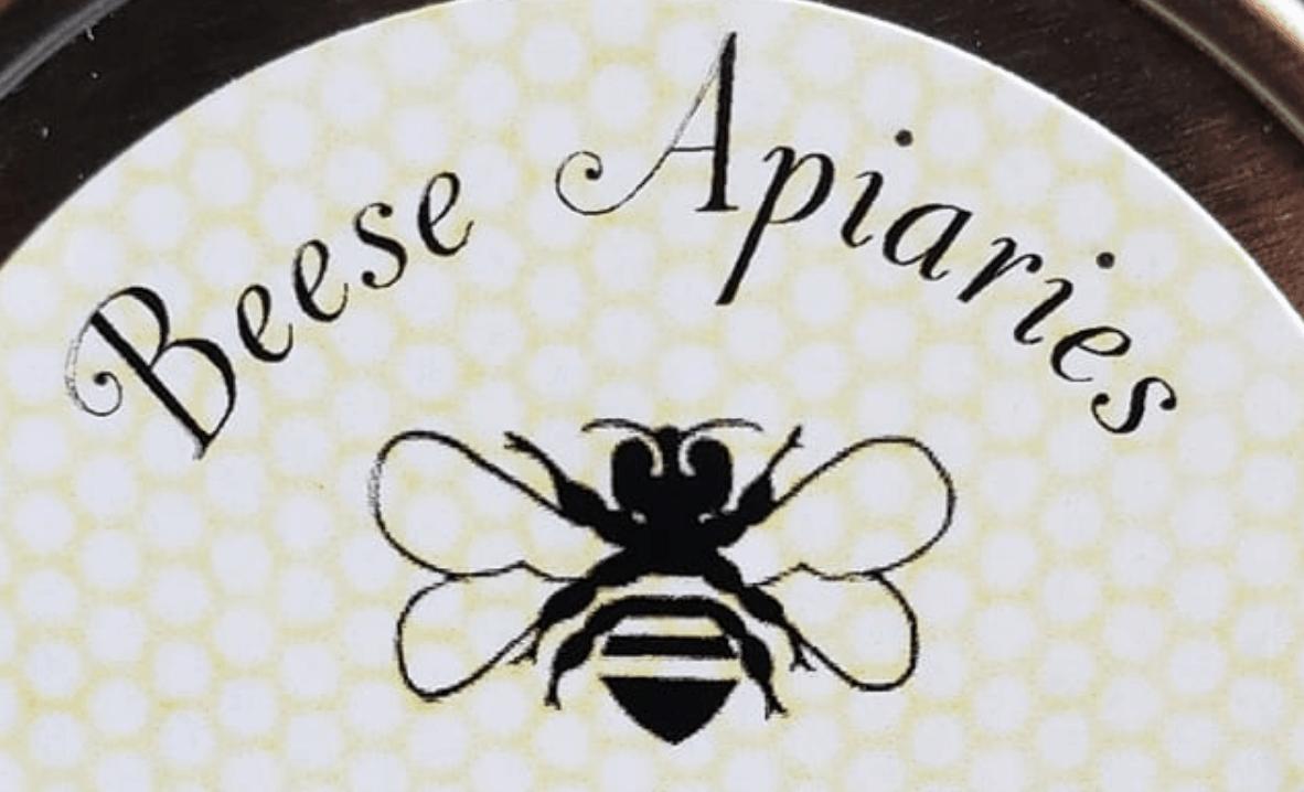 Beese Apiaries logo.