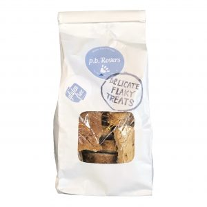 Four Legs PB Rovers dog treats.