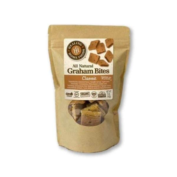 Healing Home Foods Classic Baked Graham Bites.