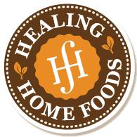 Healing Home Foods logo.