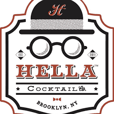 Hella Cocktail Co. logo.
