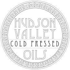 Hudson Valley Cold Pressed Oils logo.