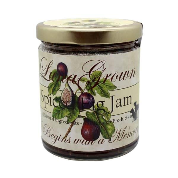 LunaGrown Spiced Fig Preserves.