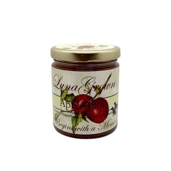 LunaGrown Apple Jam Preserves.