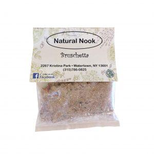 Natural Nook Spice Blend Bruschetta.