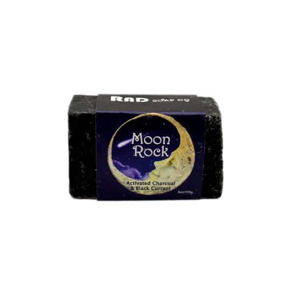 Rad Soap Moon Rock Soap.