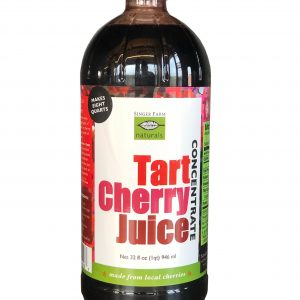 Tart Cherry Juice Concentrate.