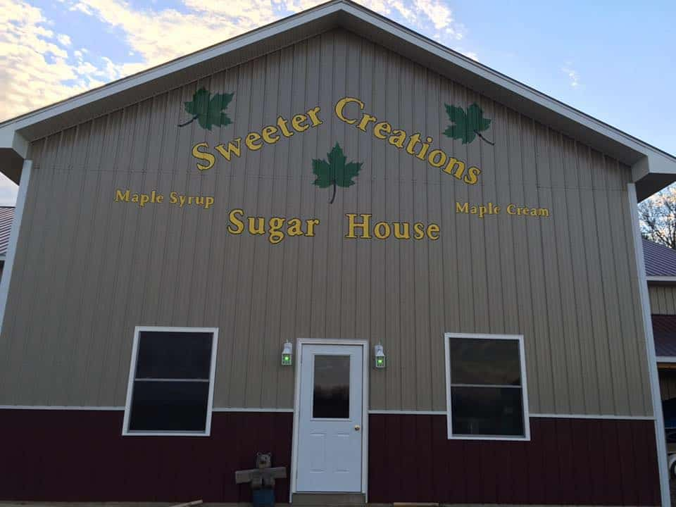 Sweeter Creations Sugar House logo.