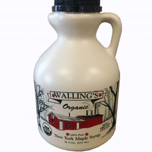 Walling's Organic Pure Maple Syrup.