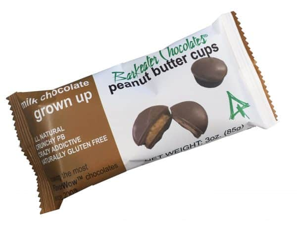 Barkeater Chocolates - Milk Chocolate Peanut Butter Cups.