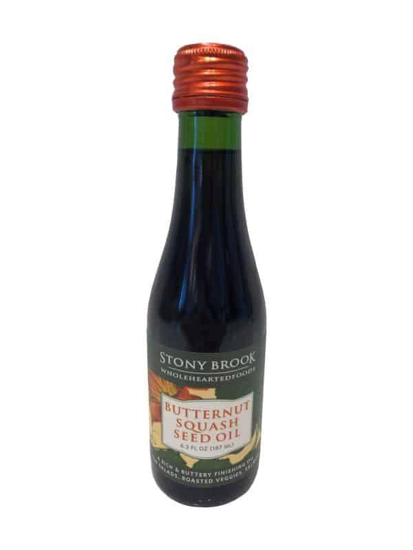 Stony Brook Wholehearted Foods Butternut Squash Seed Oil.