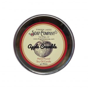 Finger Lakes Soap Co. Candle Tin.