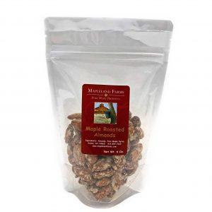 Mapleland Farms - Maple Roasted Almonds.