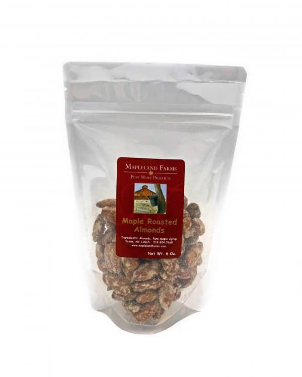 Mapleland Farms - Maple Roasted Almonds.
