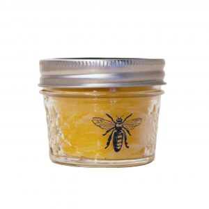 Rulison Honey pure beeswax candle.