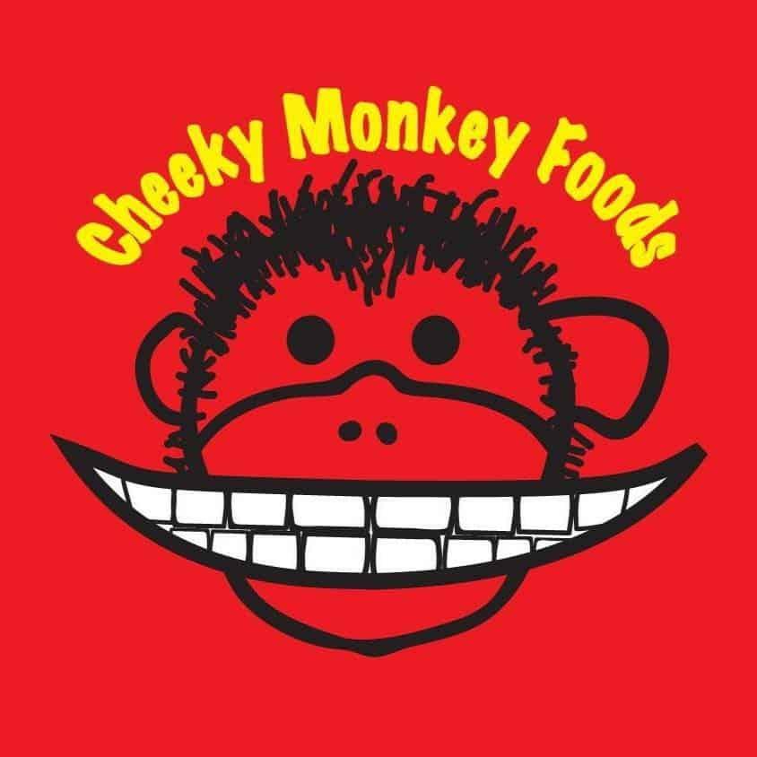 Cheeky Monkey Foods logo.