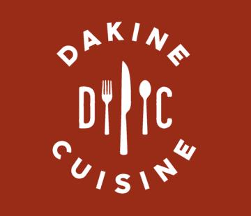 Dakine Cuisine logo.