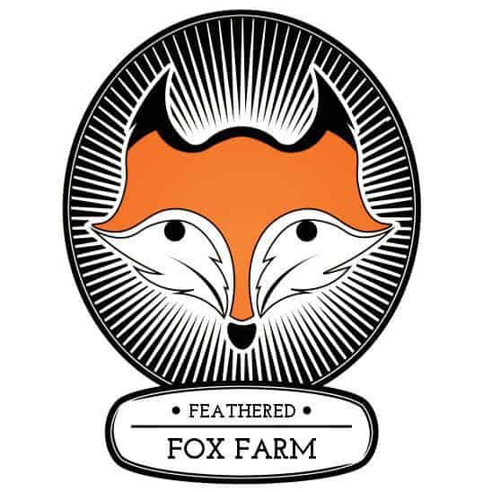 Feathered Fox Farm logo.
