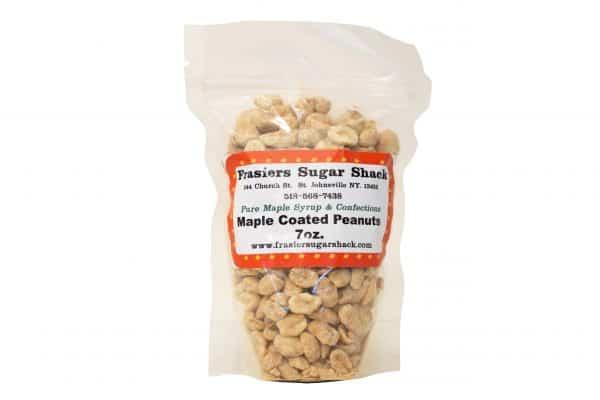 Frasier's Sugar Shack's maple coated peanuts.