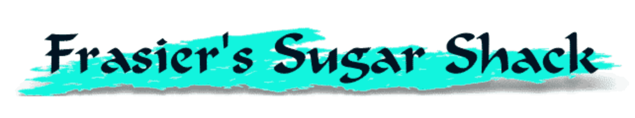 Frasier's Sugar Shack logo.