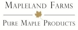 Mapleland Farms logo.