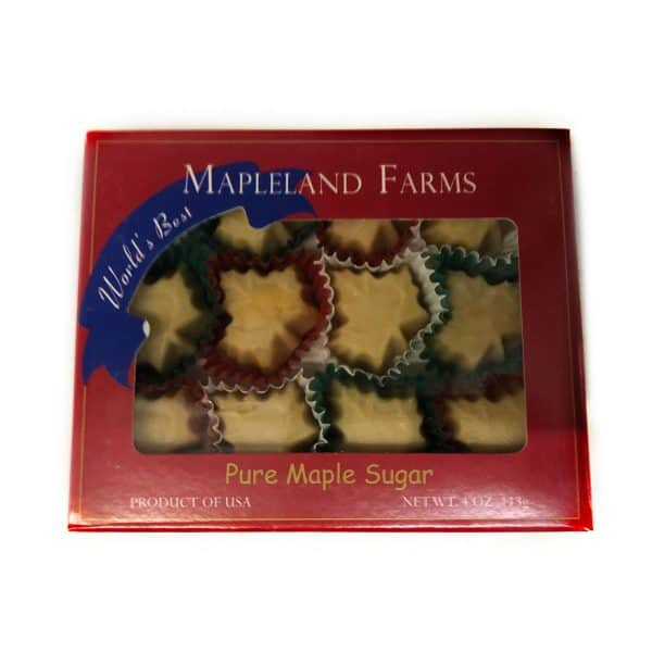 Mapleland Farms - Maple Leaf Candy (front).