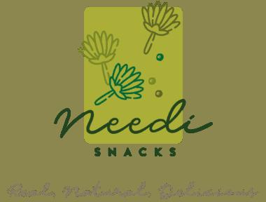 Needi Snacks logo.