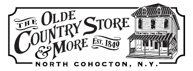 The Olde Country Store and More logo.