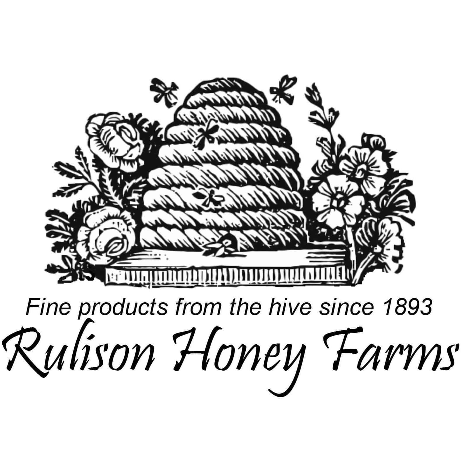 Rulison Honey Farms logo.