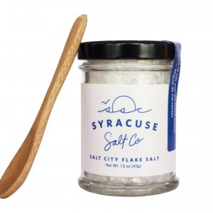 Syracuse Salt Co. flake salt.