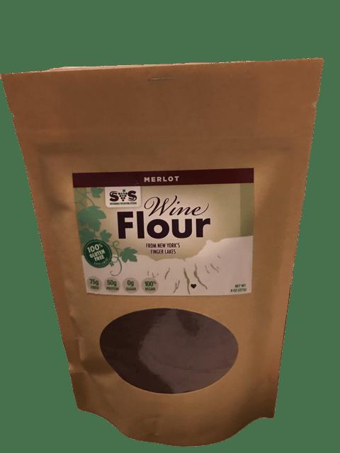 Merlot Wine Flour