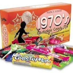 1970's candy box