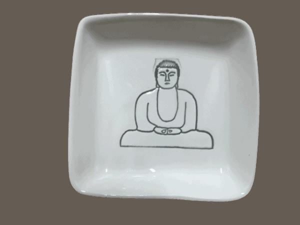buddah plate