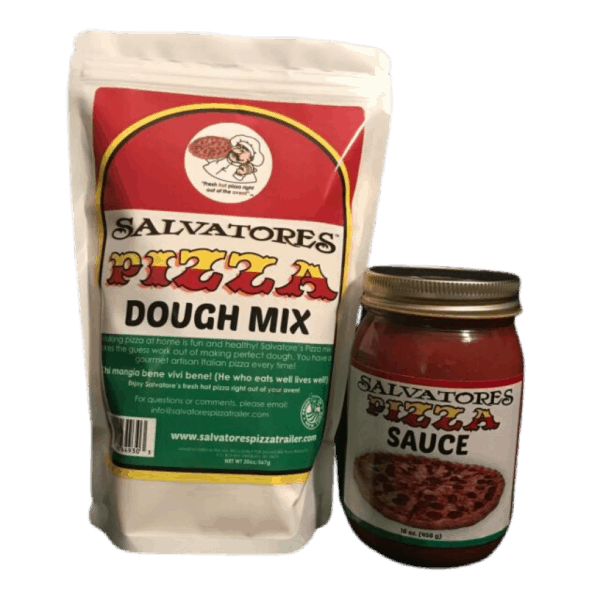 Pizza Dough and Sauce