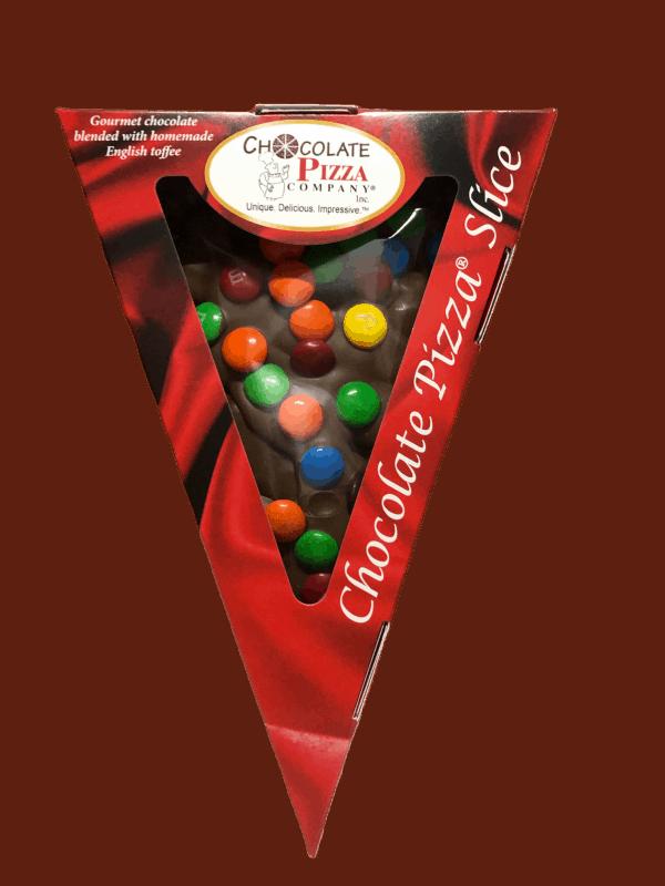 Chocolate Pizza Slice