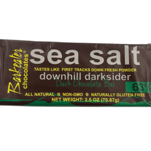 Barkeater Sea Salt Dark Chocolate Bar