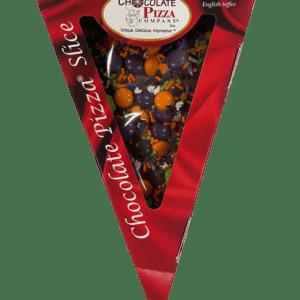 Chocolate Pizza Halloween Pizza Slice