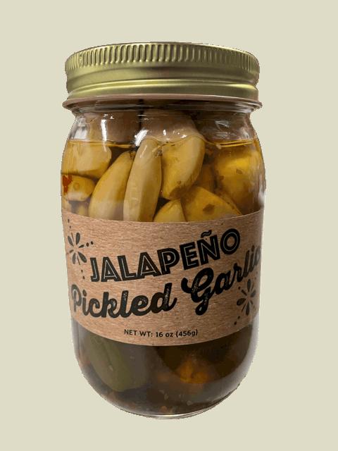 Jalapeno Pickled Garlic